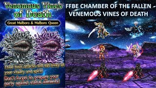 [FFBE GL] Chamber of the Fallen - Venomous Vines of Death | ELT| All Missions