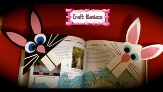 Craft Maniacs 9: Bunny Bookmarks
