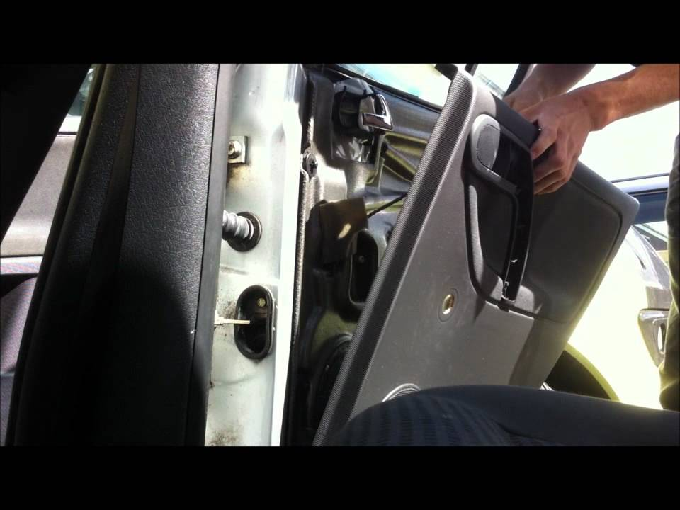 Polo 6n2 Rear Door Card Removal And Speaker Replacement