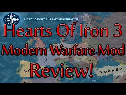 Hearts Of Iron 3 Modern Warfare Mod Review