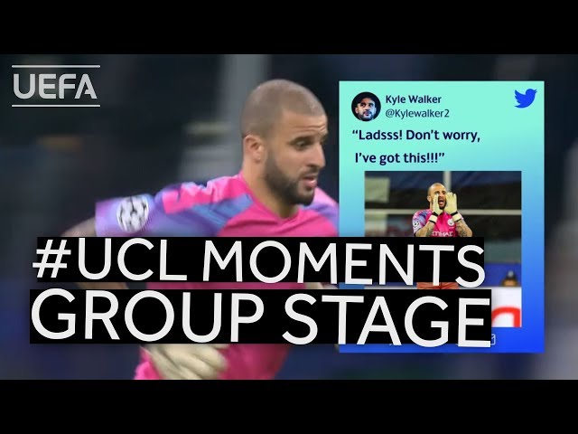 UCL Group Stage BEST MOMENTS