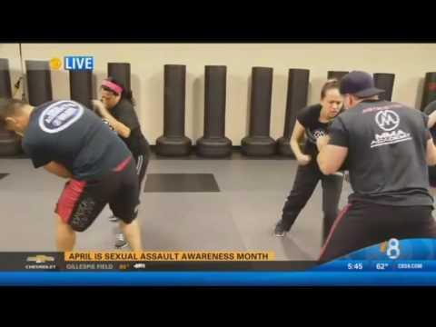 MMA Academy Sexual Assault Prevention Seminar  KFMB-TV