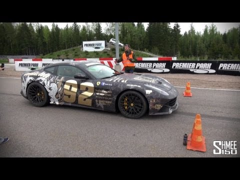 House Cartu F12 Berlinetta breaks the record lap time at Premier Park