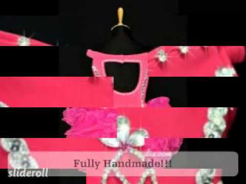 E1336-Little Miss America Glitz Cupcake Pageant Dress 4T 5T 6T 7T 8T 9T.mpg