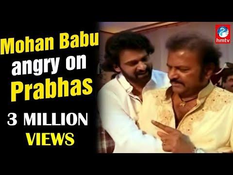 Manchu Manoj Wedding | Mohan Babu Angry on Prabhas | HMTV News