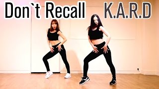 K.A.R.D Don`t Recall cover dance Waveya