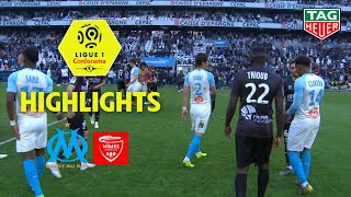 Olympique de Marseille - Nîmes Olympique ( 2-1 ) - Highlights - (OM - NIMES) / 2018-19