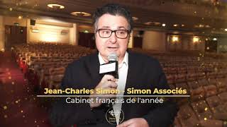 Palmarès du Droit 2021 - Simon Associés - Cabinet français de l'année