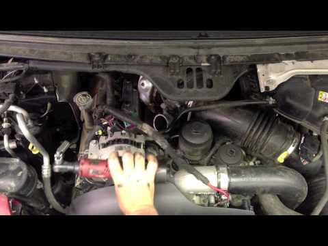Ford 6.0 Powerstroke diesel No start hot. Failed dummy ...