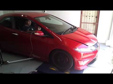Civic Type R (Fn2) Dyno Run 1