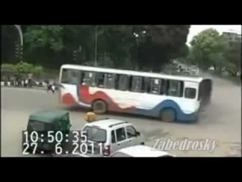 Impresionantes Accidentes de Transito Captado por Camaras de Seguridad. Parte 3