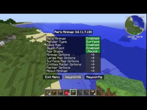 Descargar Minecraft 1.7.10 con mods basicos y 5 texturas (forge y optifine incluidos)