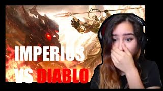 Diablo 3: Imperius VS Diablo Reaction!