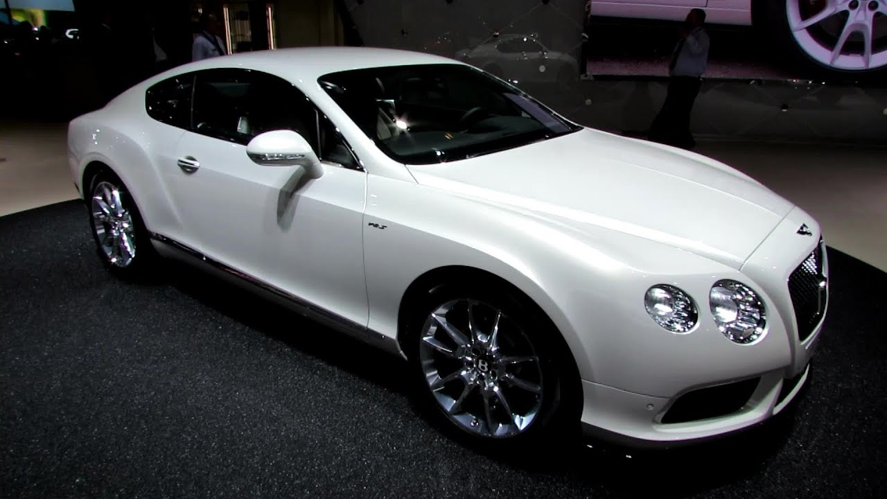 2015 Bentley Continental Gt V8s Exterior And Interior