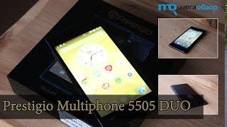 Обзор Prestigio Multiphone 5505 DUO