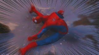 RAGDOLL GLITCHING - Marvel's Spider-Man PS4
