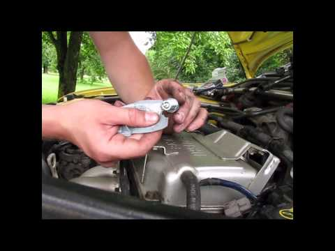 How to replace ignition coils, Spark Plugs and wires 2002 Mitsubishi Lancer