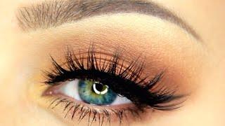 How To Apply False Eyelashes For Beginners!!