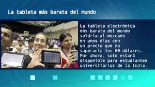 Noticias: La tableta ms barata del mundo