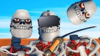 SECRET SKELETON ARENA GAME MODE! (Gladiator VR)