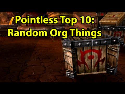 "Pointless Top 10: Random Things in Orgrimmar <a href=""https://www.youtube.com/watch?v=O9lP0m3GNUE"" class=""linkify"" target=""_blank"">https://www.youtube.com/watch?v=O9lP0m3GNUE</a>"