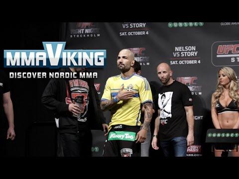 UFC Sweden 3 Weigh Ins Akira Corassani vs. Max Holloway