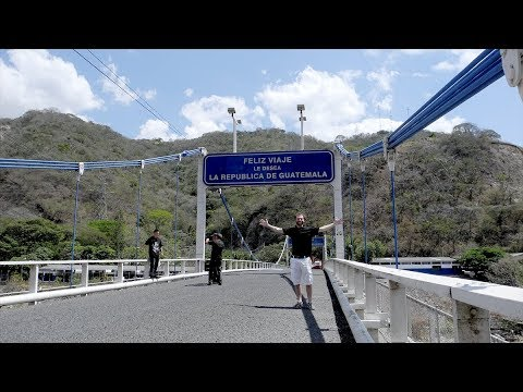 Border Crossing - Guatemala into El Salvador