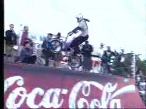 Jay Miron-BMX world champion miniramp pro 1994 Video