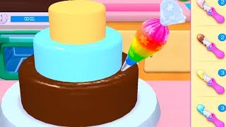 Fun Time Learn Cake Cooking & Colors Games For Kids - My Bakery Empire - Bake, Decorate & Serve Cake