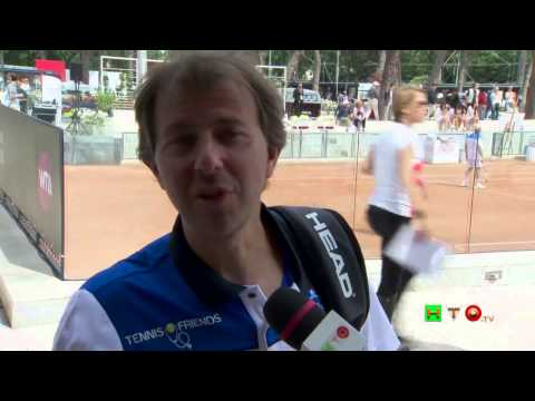 Policlinico Gemelli, Tennis and Friends – Intervista a Francesco Giorgino – www.HTO.tv