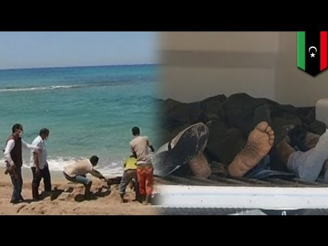 Dozens killed in boat sinking off Libya coast as official threatens EU to take action