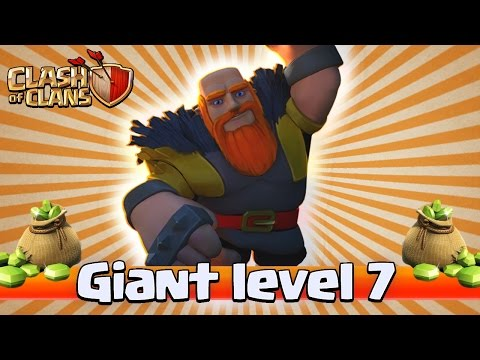 BUYING GIANTS LEVEL 7! Clash of Clans New Update Review!