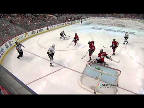 James Neal snapshot PPG 4-2 May 22 2013 Pittsburgh Penguins vs Ottawa Senators NHL Hockey