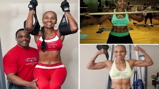 World Fittest Grandma: 80 y.o bodybuilder who bench presses 150lbs and runs 80 miles a week
