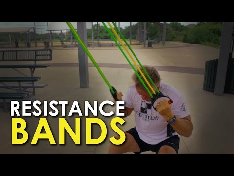 Resistance Band Training   The Art of Manliness