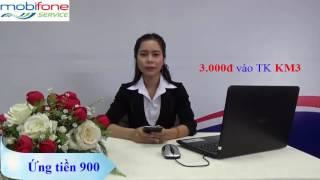 Dịch vụ Ứng tiền 900_Mobifone