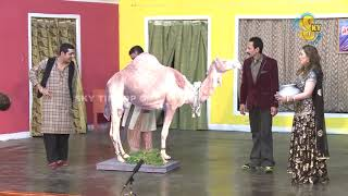 Zafri Khan Iftikhar Thakur and Nasir Chinyoti Pakistani Stage Drama Comedy Clip 2018
