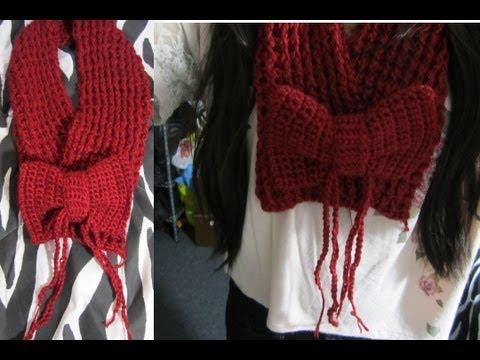 DIY: Cute Bow Accessory (Crochet Tutorial)