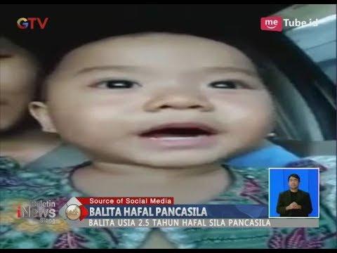 Cover Lagu Bikin Gemas!! Viral Video Aksi Lucu Balita Lancar dan Hafal Pancasila - BIS 17/04