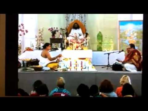 Sri Jaya Durga Homam - Art Of Living Centre Montreal -10th October 2011 video
