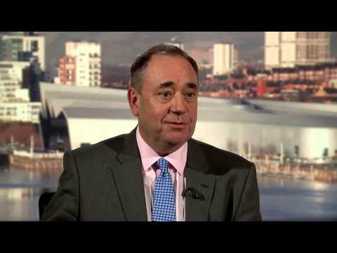 Alex Salmond interviewed by Jackie Bird on Reporting Scotland 13th August, 2014