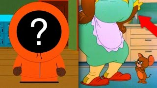 Cartoon Characters Who Secretly Revealed Their Faces