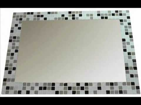 Espejos con venecitas lasaya decoraciones youtube for Decoracion de espejos paso a paso