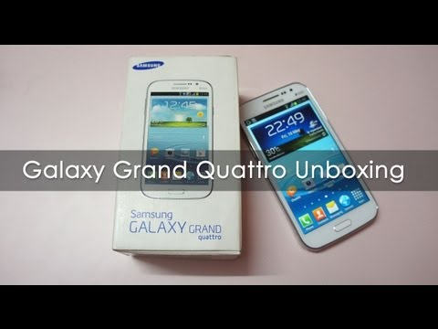 Samsung Galaxy Grand Quattro Unboxing & Overview GT-18552