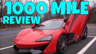 Mclaren 570s - 1000 Mile Ownership Review
