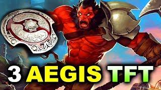 3 AEGISES 2 ANCHORS vs TFT - EU FINAL - WESG 2018 DOTA 2