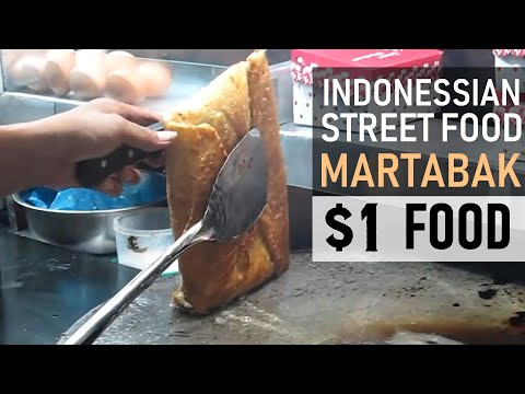 Indonesian Martabak / Awesome Indonessian street food!