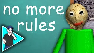 "BALDI'S BASICS SONG ""No More Rules"" by TryHardNinja"