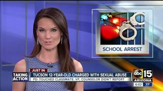 PD: 12-year-old boy arrested for sex abuse