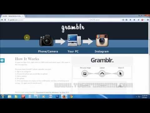 Cara Upload Foto Ke Instagram Dengan Komputer